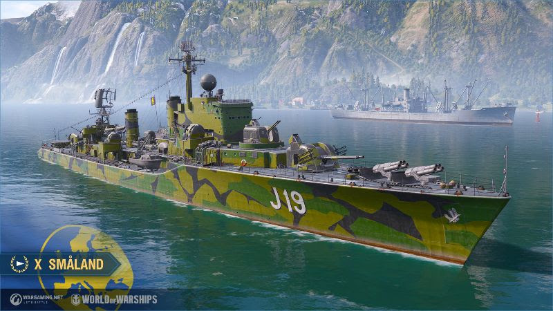 World Warships contratorpedeiros suecos