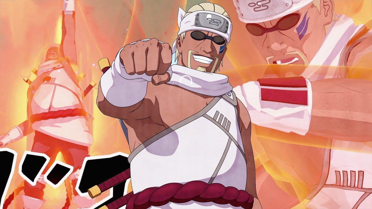 """Concurso"" de popularidade dos personagens de Naruto. Quiz-killer-bee-naruto-shippuden"