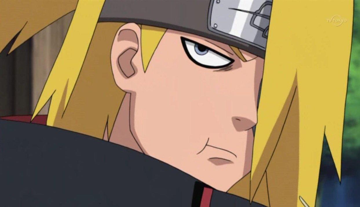 Entenda porque Deidara é subestimado em Naruto Shippuden ...
