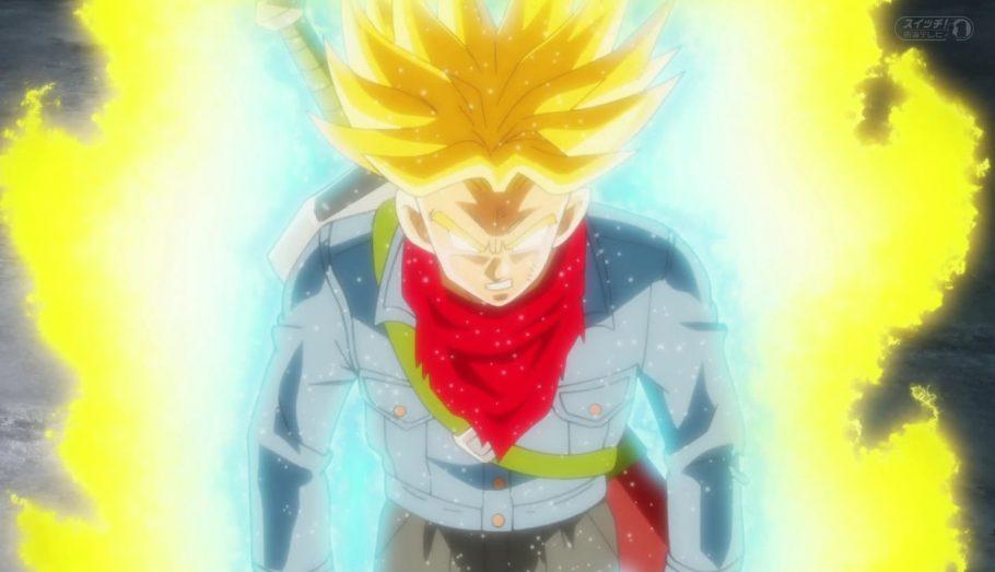 Trunks do Futuro - Super Saiyajin Fúria