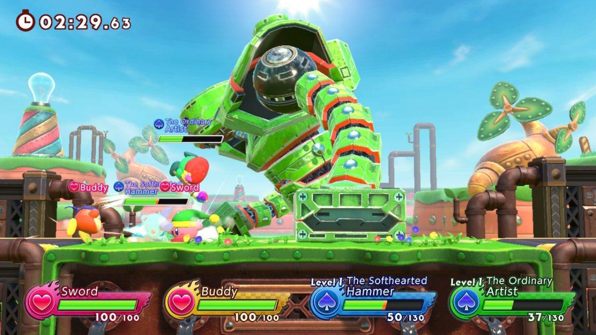 Foto 4 do jogo Kirby Fighters 2