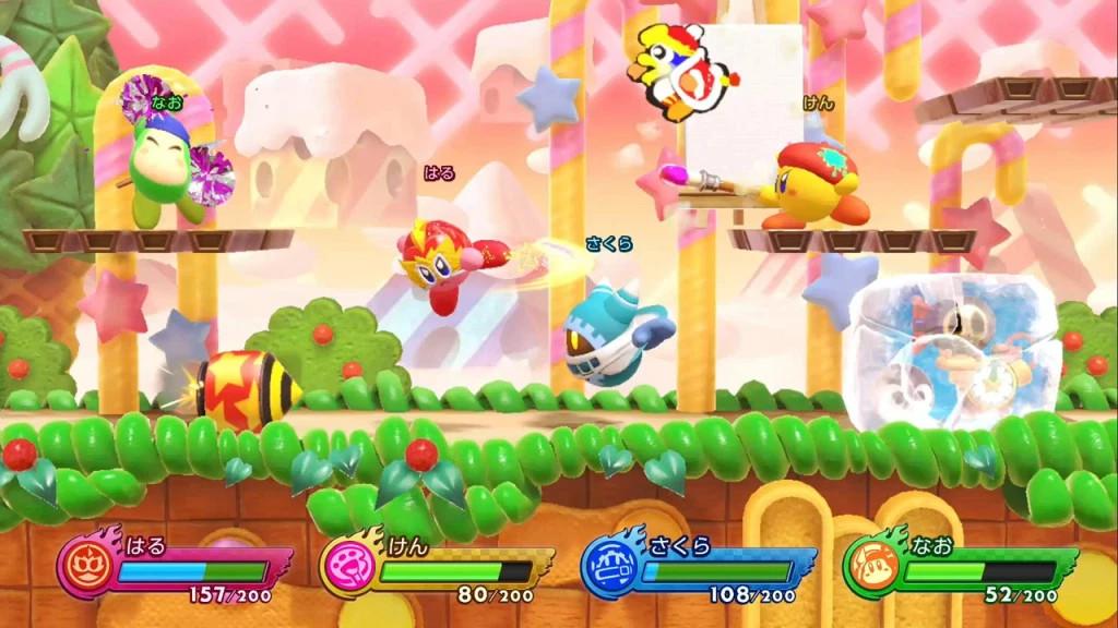Foto 1 do jogo Kirby Fighters 2
