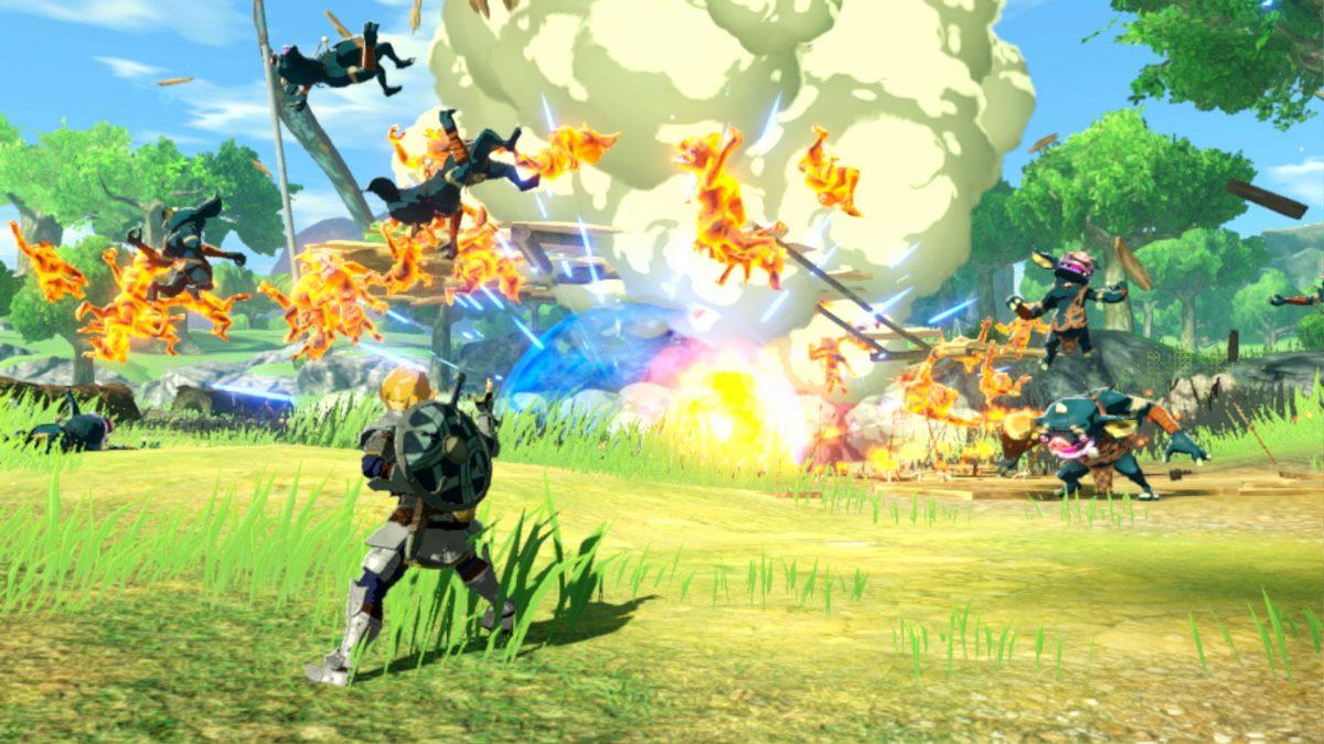 Foto 3 do jogo Hyrule Warriors: Age of Calamity