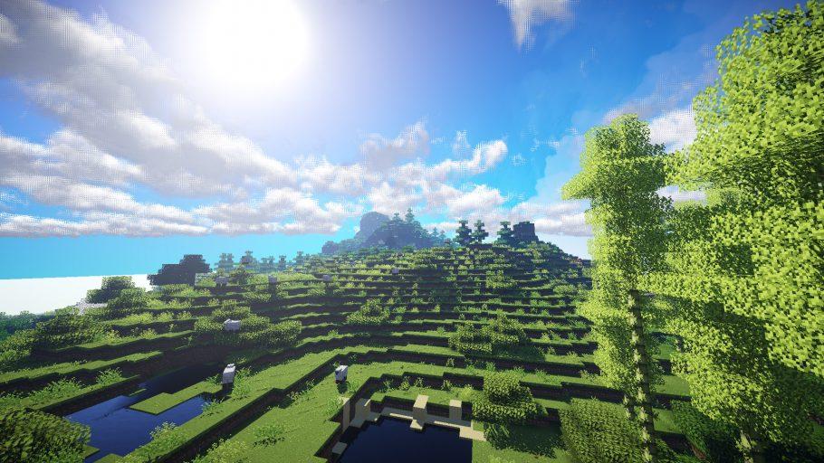 Minecraft - Como fazer um Aqueduto (Conduto)