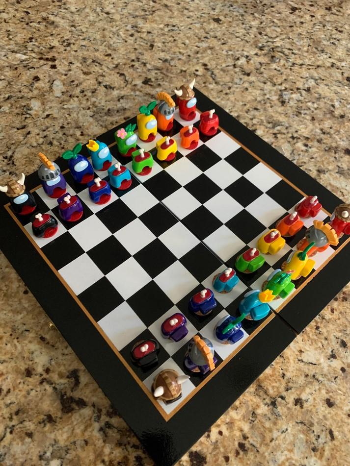 Among Us xadrez
