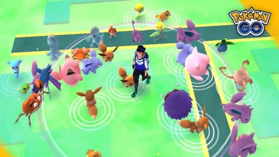 Pokémon GO - Códigos promocionais de março de 2021