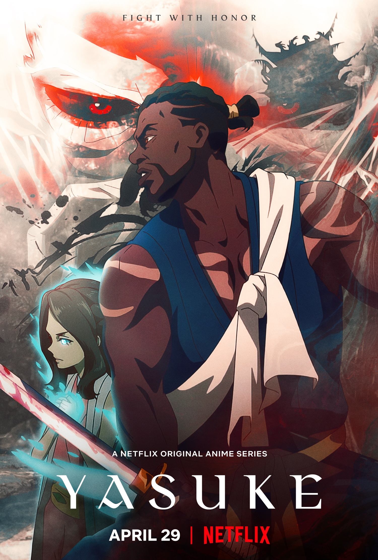 Yasuke 1ª Temporada Completa - Poster
