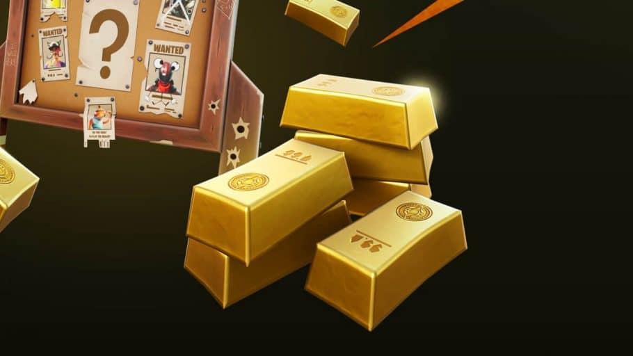 Fortnite Barras Ouro