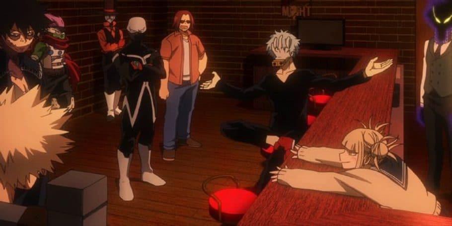 Cuando capturan a Bakugo y le dice a Deku que no lo siga