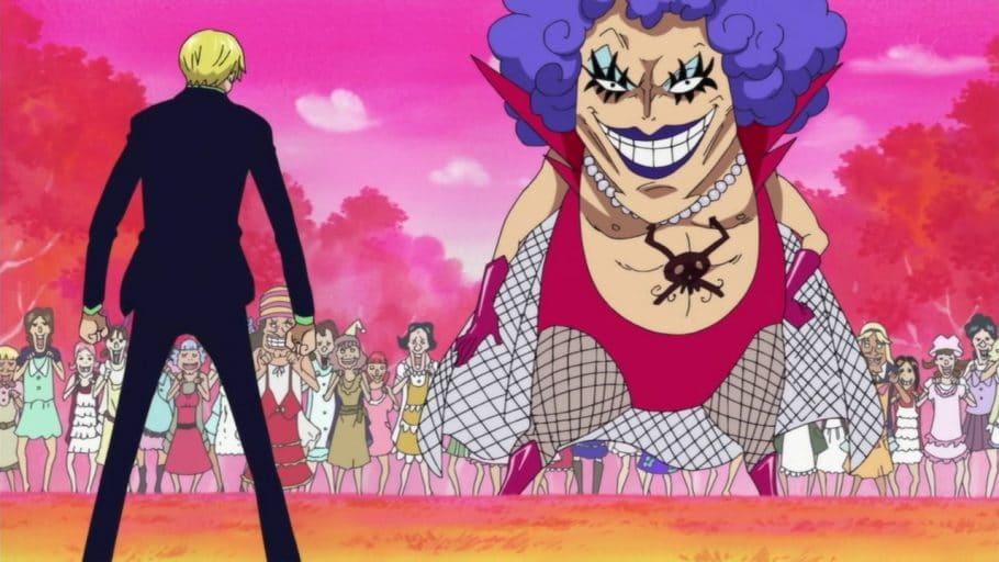 El signo de los personajes principales de One Piece