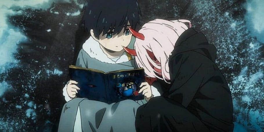 Hiro y Zero Two son la pareja perfecta