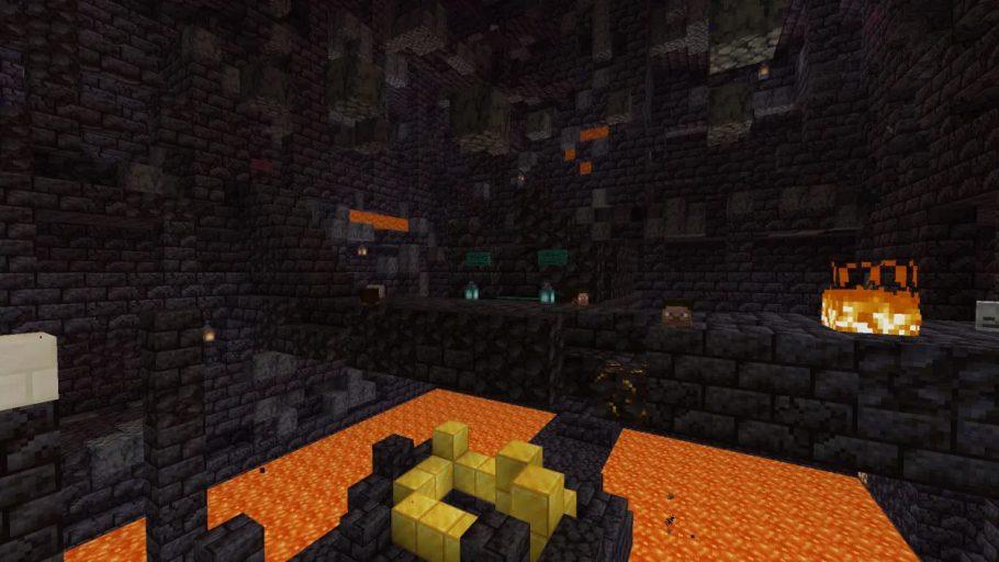 bastiões minecraft