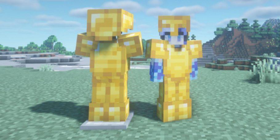 armadura de ouro