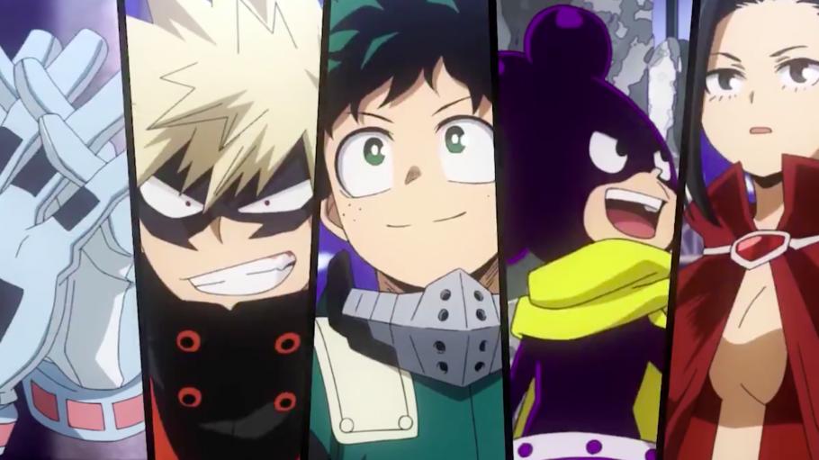 A sexta temporada de My Hero Academia já está em produção